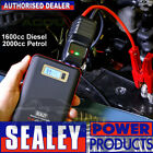 Sealey SL65S Slim 12v 600A Car Bike Lithium Battery Jump Starter Power Pack Bank