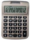 Lot of 24 Pieces - Silver 12-Digit Desk Calculator - LeWorld School Office Math