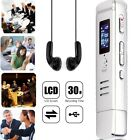 Mini Audio Voice Recorder 8GB USB Disk Digital Dictaphone With Screen Earphone