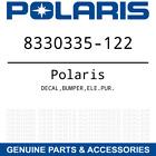 OEM Polaris DECAL,BUMPER,ELE.PUR. 8330335-122