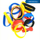 50pc RFID 13.56MHz MF IC Multiple colors Waterproof Silicone Wristband Watch Tag