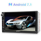 """Double 2Din 7"""" Android 7.1 RAM 2GB Car GPS 4K Stereo Navigation DAB WIFI 4G OBD2"""
