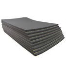 9 Pcs Self Adhesive Closed Cell Foam 6mm Car Sound Proofing Deadening Insulation