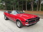 Chevrolet Camaro RS RS Rally Sport Convertible 1967 Camaro RS Rally Sport 350 4 Speed Muncie Bolero Red Convertible