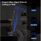 Mpow [GEN2] Digital Clock LED Display Projection - FM Radio, Dual Snooze Alarm