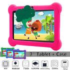 7'' Tablet PC Android Smart System Quad-core A33 Children Camera bundle Case NEW