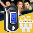 Advance LCD Digital Police Breath Alcohol Tester Breathalyzer Detector Analyzer