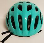 Huffy's Bycicle Helmet Aqua Green and White Model5808 REF#14969 Size Large 58-62