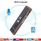 Bluetooth Automatic Voice Translator 33 Languages Travel Language Assistant