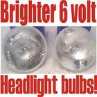 2 Halogen headlights: Dodge 1946 1947 1948 1949 1950 1951 1952 1953 1954 1955
