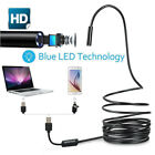 3in1 USB Endoscope Borescope IP68 Waterproof Snake Camera 6 Adjustable White LED