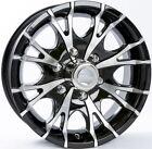 "7 Star Aluminum Trailer Wheel Rim 15x6 6 Hole 5.5"" Center 15"" x 6"" T07/BLACK"