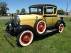 1929 Ford Model A  1929 Ford Model A Rumble Seat Coupe