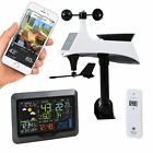 Wireless Weather Station Wifi Connect Weather Forecast With Wind Solar Sensor