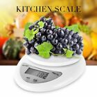 5kg/1g Digital Kitchen Food Scale Weight Balance Electronic Diet Postal Gram UNW