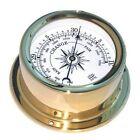 TRINTEC EUR-04  EURO SHIPS ANEROID BAROMETER CLOCK NAUTICAL INSTRUMENT BRAND NEW