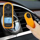 Digital LCD Thermometer Anemometer Temperature Meter Air Wind Speed Tester Gauge