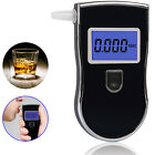 LCD Screen W Blue Backlight High Precison Alcohol Detector Tester Breathalyser