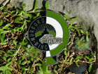 VERY NICE AUTOMOBILE CAR RADIATOR BADGE # PORSCHE RACE TRACK NÜRBURG-RING
