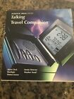 SHARPER IMAGE Talking Travel Companion Alarm Clock Flashlight Motion Sensor