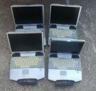 (4) Panasonic Toughbook CF-72 Notebook/Laptop - CF72 - PARTS OR REPAIR ONLY