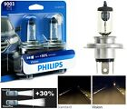 Philips VIsion 30% 9003 HB2 H4 60/55W Two Bulbs Head Light Replace Snowmobile