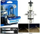 Philips VIsion 30% 9003 HB2 H4 60/55W One Bulb Head Light Replace Snowmobile