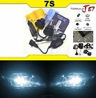 LED Kit 7S 50W 9008 H13 6000K White Two Bulbs Head Light Replacement Snowmobile
