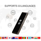 Smart Instant Voice Translator 33 Languages Speech Interactive Easy Translation