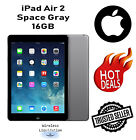 Apple - iPad Air 2 16GB Unlocked 9.7 inches - Space Gray ------- 1 Year Warranty