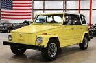 Thing -- 1973 Volkswagen Thing  5805 Miles Sunflower Yellow SUV 1.6L H4 Manual