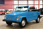 Thing -- 1973 Volkswagen Thing  77801 Miles Laguna Blue Convertible 1.6L H4 4 Speed Manua