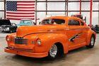 Nash Ambassador -- 1947 Nash Ambassador  7710 Miles Orange Coupe 355 V8 Automatic