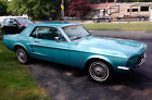 1967 Ford Mustang coupe 1967 Ford Mustang: 31,500 mile restored Arizone car in Frost Turquoise