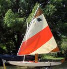 1979 AMF Alcort Sunfish Sailboat W/ ShoreLandr Trailer