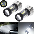 2xHeadlight For Yamaha Raptor 700 700R 06-18 80W 6000K White LED Bulb H6M 1200LM