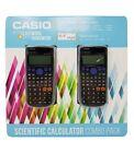 Casio Scientific Calculator FX-300ES Plus 2 Pack