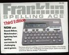 FRANKLIN- SPELLING ACE MODEL SA-98A MERRIAM-WEBSTER - LINGUISTIC TECHNOLOGY
