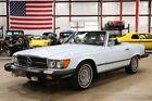1974 SL-Class -- 1974 Mercedes-Benz 450 SL  171528 Miles Blue Convertible V8 Automatic