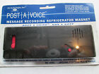 IPS TECHNOLOGIES POST A VOICE MESSAGE RECORDING REFRIGERATOR MAGNET FREE SHIP US