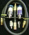 "1/4"" NPT InLine Filter/Water Trap Refillable Desiccant/Dryer H.D. Steel"