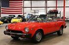 Spider -- 1978 Fiat Spider  64635 Miles Rosso Bougainville Red Convertible 1.8 Liter DOHC
