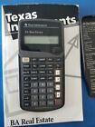 Texas Instruments BA Real Estate Scientific Calculator