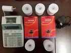 Sharp EL-1750P III 12 Digit 2 Color Printing Calculator