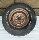 1 OEM ORIGINAL CHEVY 1964 RIM WITH TIRE FROM A BEL-AIR WAGON
