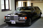 1985 Rolls-Royce Silver Spirit/Spur/Dawn AUTUMN LEATHER, BURR WALNUT WOOD 1985 ROLLS-ROYCE SILVER SPUR FACTORY LIMOUSINE 1 OF ONLY 16 PRODUCED!