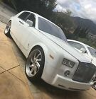2006 Rolls-Royce Phantom  2006 Rolls-Royce Phantom VI 6.8L V-12 Engine Arctic White Excellent Condition!