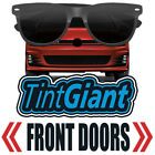 TINTGIANT PRECUT FRONT DOORS WINDOW TINT FOR FORD F-450 SUPER CAB 17-18