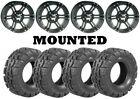 Kit 4 Deestone Trail Crusher Tires 26x9-12/26x12-12 on ITP SS212 Matte Black ACT