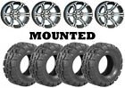 Kit 4 Deestone Trail Crusher Tires 26x9-12/26x12-12 on ITP SS212 Machined FXT